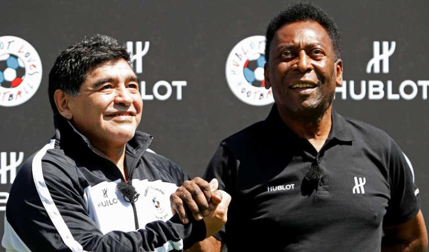 Argentinian legend Diego Maradona returns to football