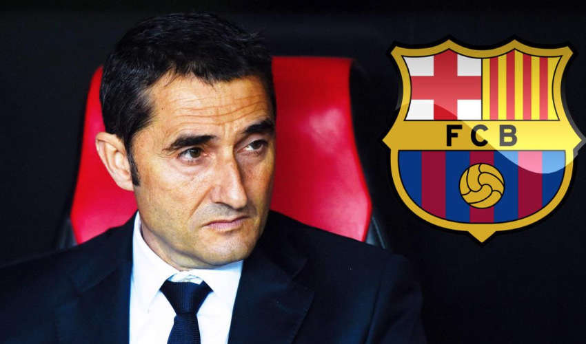 Who is Barcelona's new manager Ernesto Valverde?