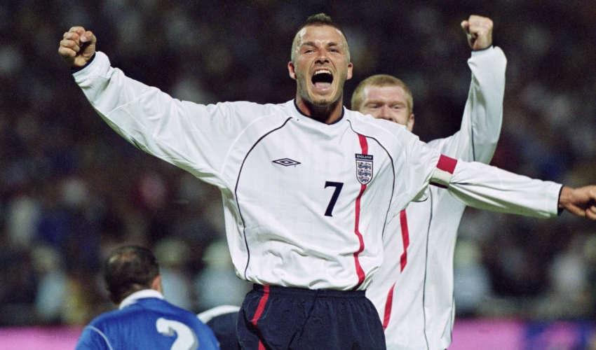 David Beckham pays tribute to Francesco Totti