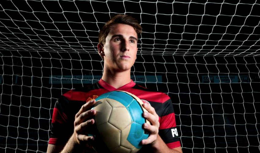 Maltese descendant James Baldacchino chosen for the U21 national squad