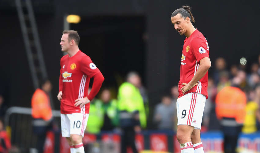 Wayne Rooney loses top spot to Ibrahimovic