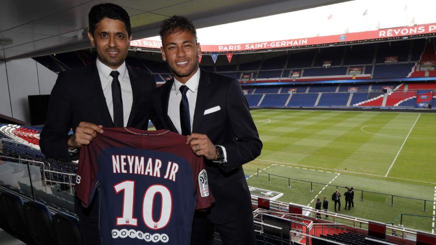 neymar's-psg-unveiling
