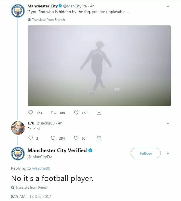 Manchester City fire social media manager
