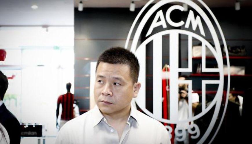 Milan owner Yonghong Li