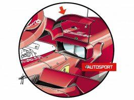 Ferrari F1 team changes halo mirrors for Monaco