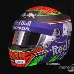 Special helmet for Monaco GP