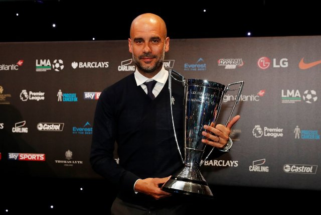City's Pep Guardiola wins LMA award