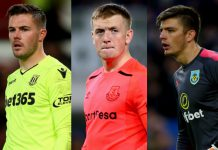 Who will start as England's keeper?