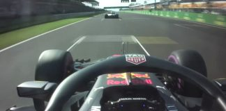 Ricciardo flipped Bottas the finger after overtaking
