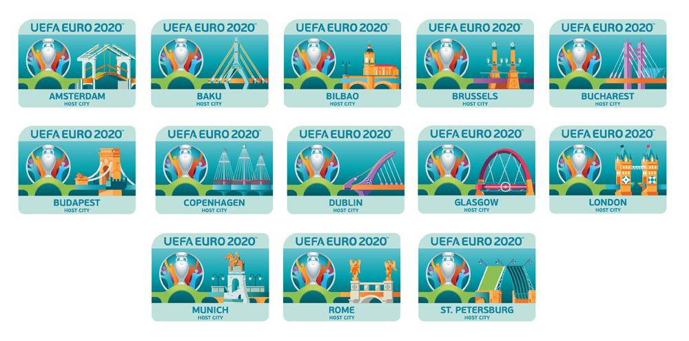 Hasil gambar untuk euro 2020, 12 city