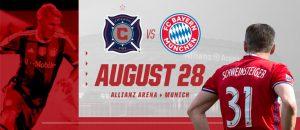 🇩🇪 Bastian Schweinsteiger Tribute Match: Chicago Fire v Bayern Munich