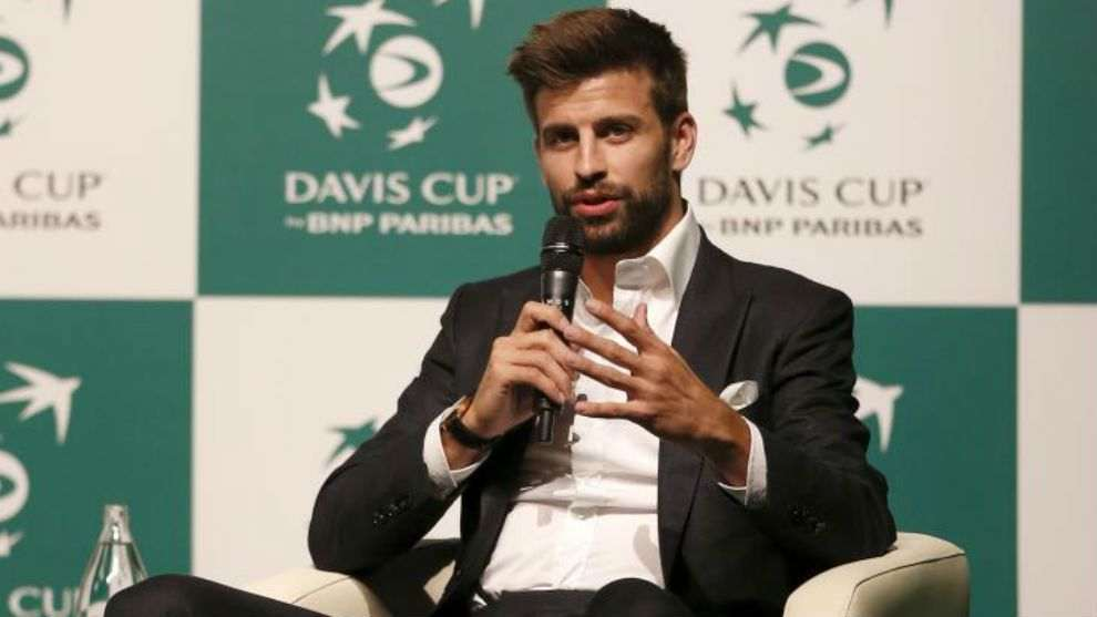 Pique Davis Cup