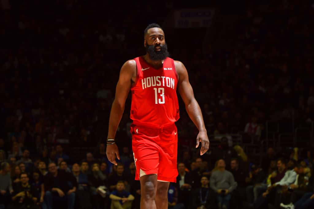 392e524c0b9 Rockets  Harden Hits Career-High 61 Points in Victory over Knicks ...