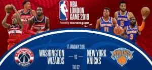 🏀 NBA London Game: Washington Wizards v New York Knicks