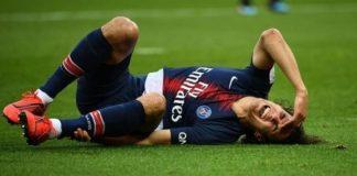 Cavani-injury