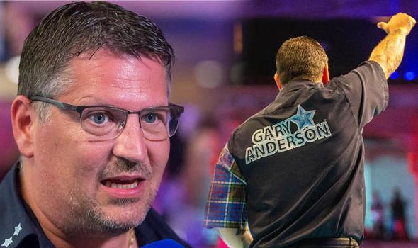 Darts Gary Anderson