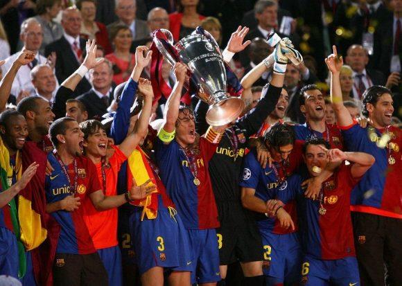 Barcelona-treble