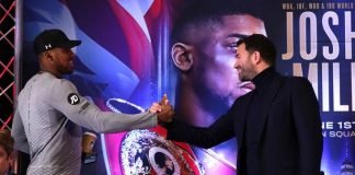 Anthony Joshua-Eddie Hearn