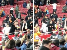Valencia-fans-caught-making-VILE-monkey-gestures-and-Nazi-salutes-to-Arsenal-776411