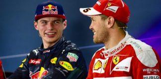 Verstappen Vettel