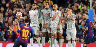 Messi_Freekick Liverpool