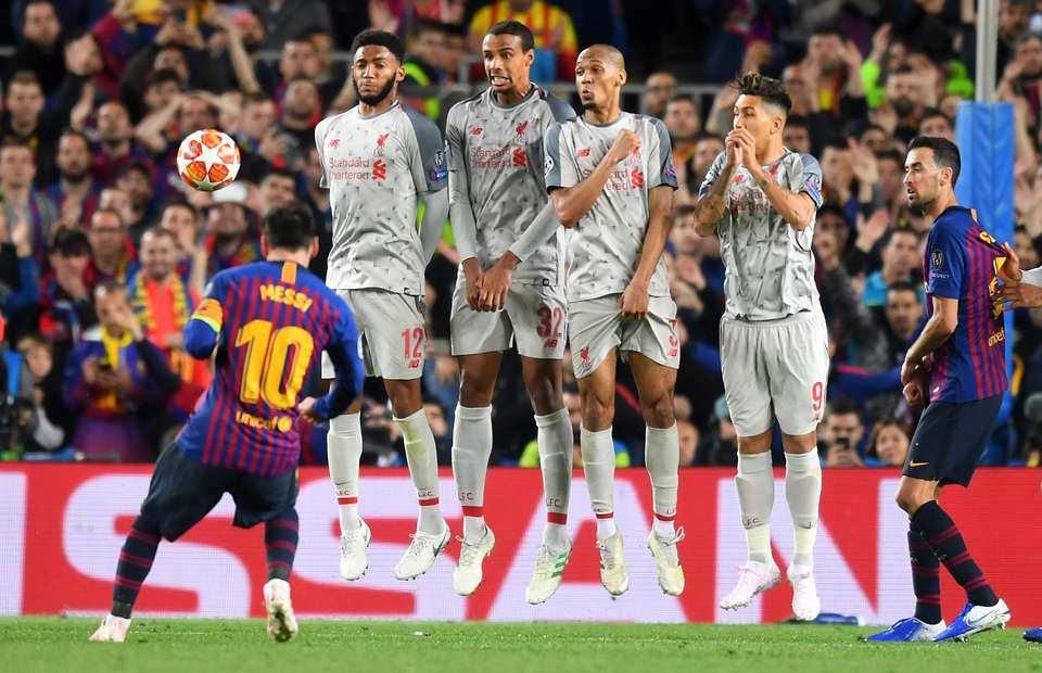 Messi_Freekick Liverpool