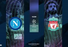 Champions League Napoli vs Liverpool