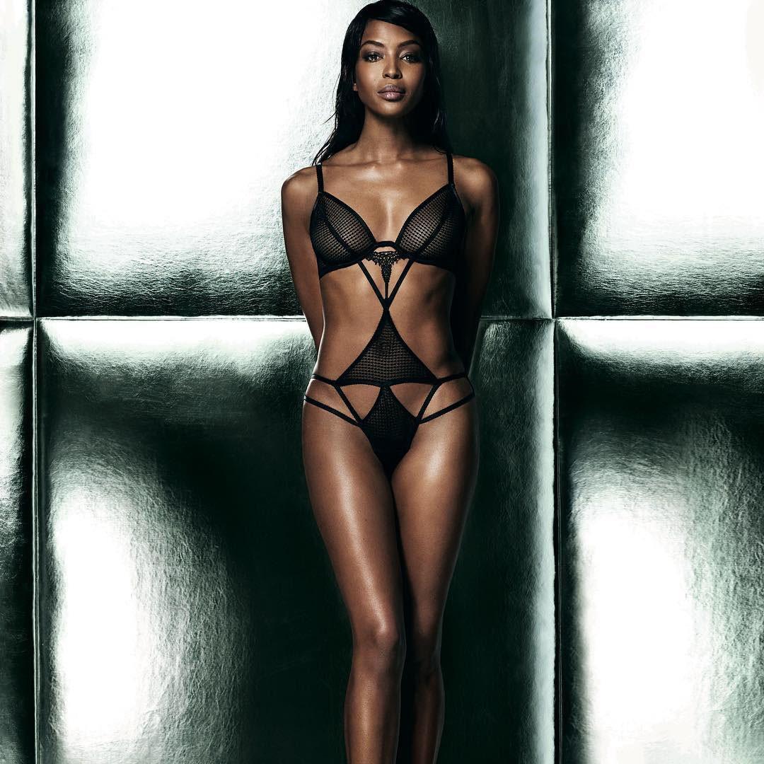 Naomi Campbell Grid Girl