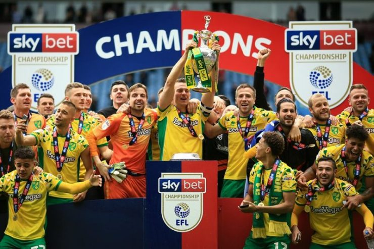 Norwich City Champions - relegated