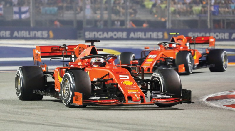 Vettel-Singapore GP