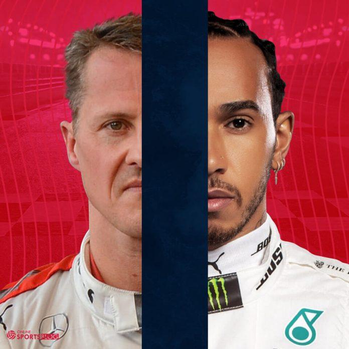 Schumacher Hamilton