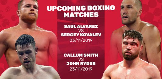 upcoming boxing matches