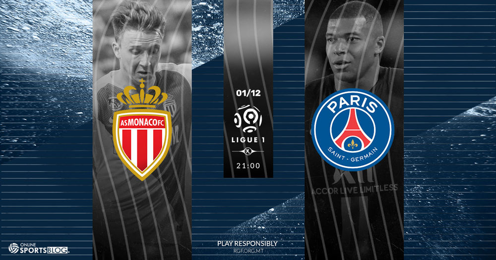 Ligue 1 Monaco vs PSG