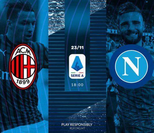 Serie A Milan vs Napoli