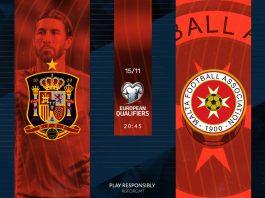 Spain vs Malta